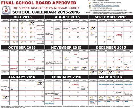 Palm School Calendar Parents Get Your Palm County School Calendar For
