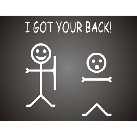 I Your Back Quotes