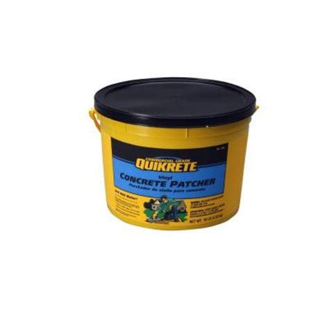 quikrete 10 lb vinyl concrete patcher 113311 the home depot