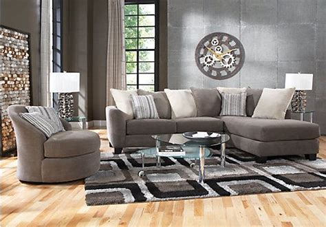 find living room furniture shop for a meridian springs charcoal 5 pc sectional living room at rooms to go find living room