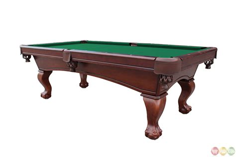 Pool Table 8 by Green 8 Foot And Claw Style Slate Pool Table