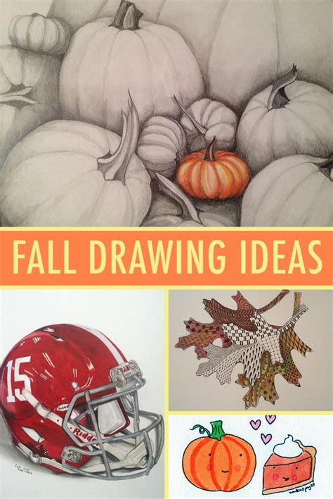 drawing themes 2015 fall drawing ideas to inspire you this season