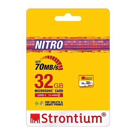 Strontium Nitro 433x Microsdhc Uhs 1 65mb S Class 10 16gb 1 strontium nitro 466x microsdhc card 32gb 70mb s class