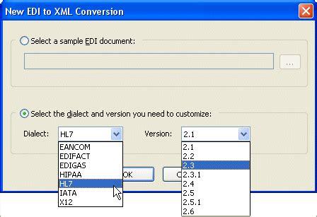 convert an edi document form 270 to a csv file edi to xml