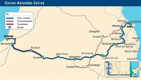 Garnet Mt trans north bus amp coach service cairns cairns karumba