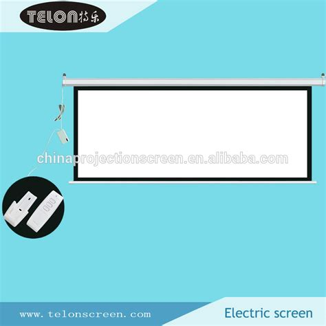 Simple Screen Motorized 84 4 3 Matte White Tabular Motor 84inch 1 1 4 3 16 9 matte white wall or ceilling mount