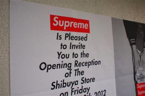 supreme japan store supreme store opening in shibuya tokyo highsnobiety