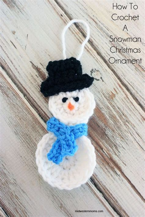 Inexpensive Christmas Tree Ornaments - 25 diy snowman craft ideas and tutorials for kids