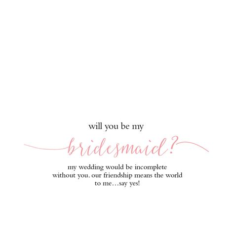be my create with will you be my bridesmaid dogeared