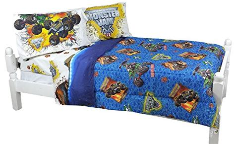 monster jam comforter monster jam twin full bed reversible comforter monster