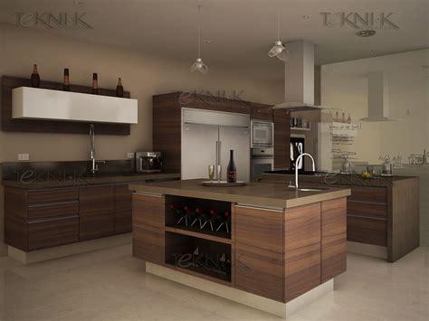 maderas para cocinas cocina en maderas de vetas horizontales con cubierta de