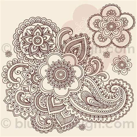 oriental henna tattoo 17 best ideas about paisley flower tattoos on pinterest
