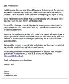 Introduction Letter To Staff 35 Introduction Letter Sles