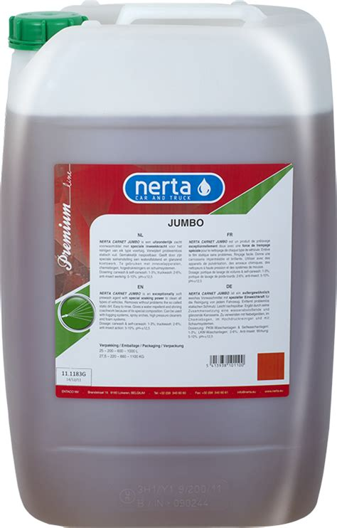 Wash Jumbo carnet jumbo professional cleaning products for car wash truck wash gt nerta ltd united