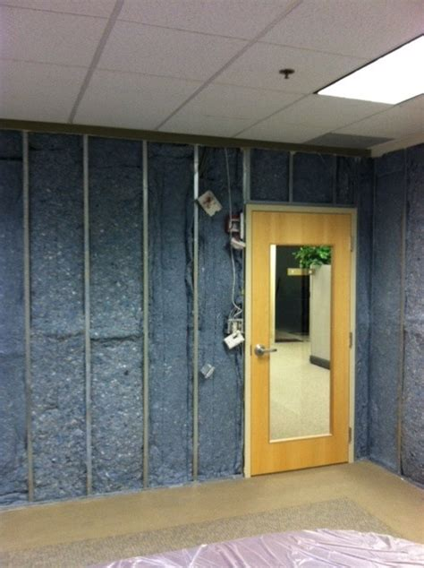 sound barrier wall insulation conference room wall soundproofing with sound barrier