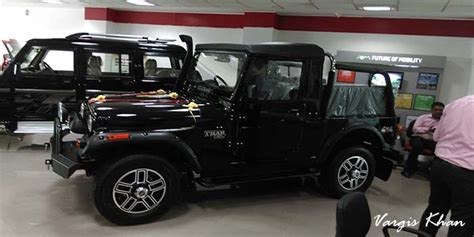 jipsi jeep modified thar in black color vargis khan 3 vargis khan