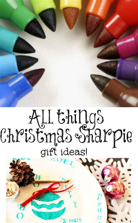 christmas sharpie plates crafts sharpie plates and