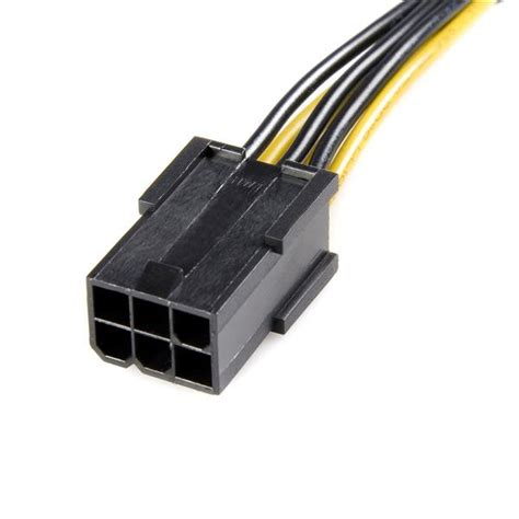 pcie 6 pin to 8 pin power adapter cable pcie power