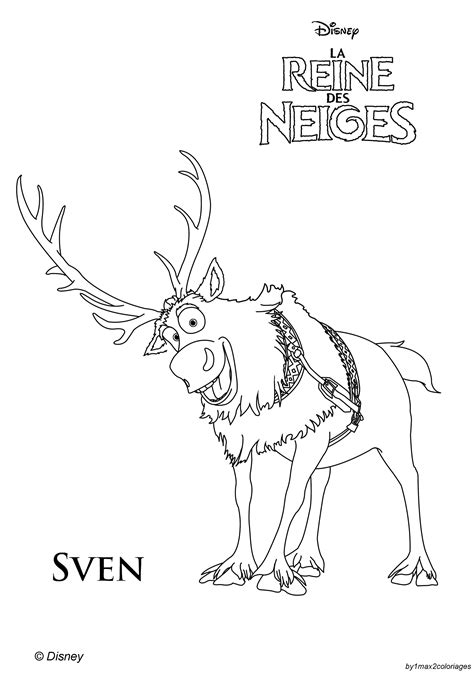 coloring pages frozen sven free coloring pages of baby sven