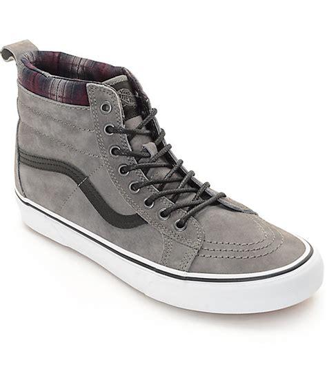 High Grey vans grey high tops beautymix nu