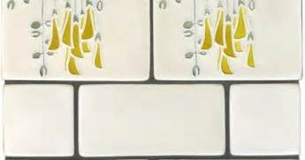 Kitchen Backsplash How To motawi tile backsplash border ceramic art pinterest