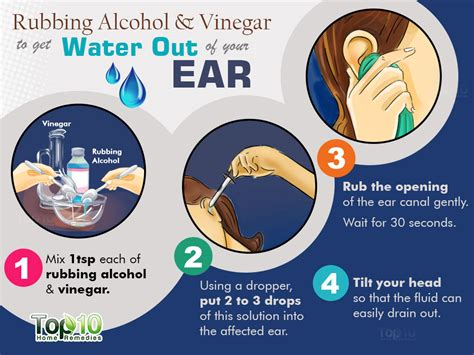 how to remove water from your ears after swimming