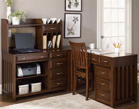 5 l shaped desk and file cabinet unit by liberty