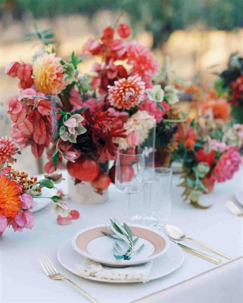 Fall Wedding by 66 Rustic Fall Wedding Centerpieces Martha Stewart Weddings