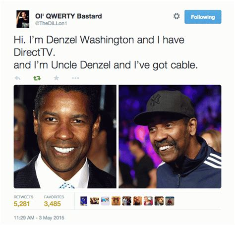 Denzel Meme - uncle denzel is the hilarious new meme you need in your life