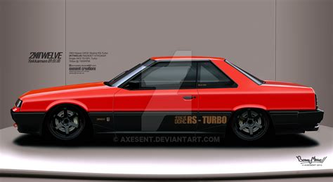 nissan dr30 dr30 nissan skyline rs by axesent on deviantart