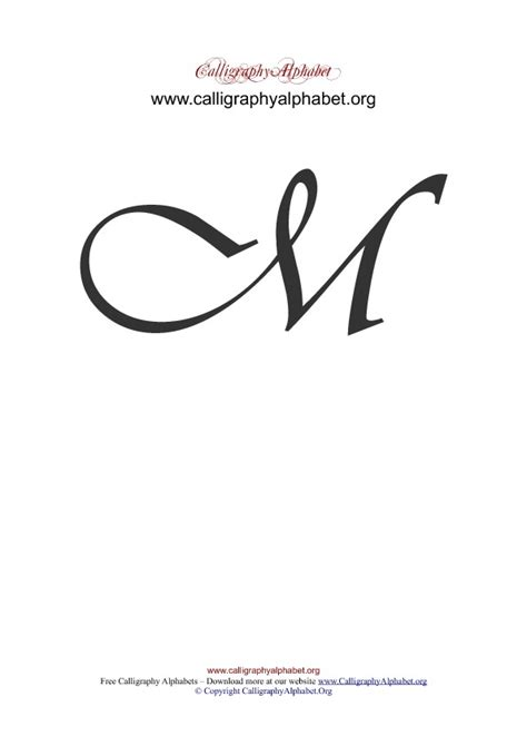 o m template fancy cursive capital m www pixshark images