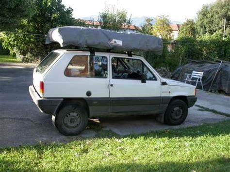 tenda da tetto auto usata pandacaravan panda 4x4 cerizzata www danieleverducci it