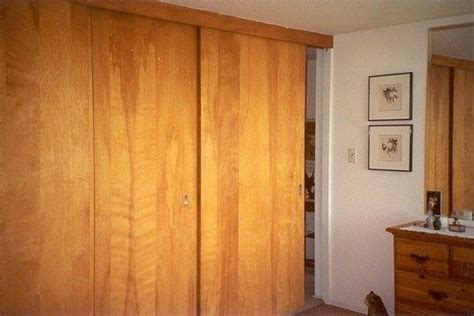 Wood Closet Doors Sliding 17 Best Images About Sliding Wall Panels On