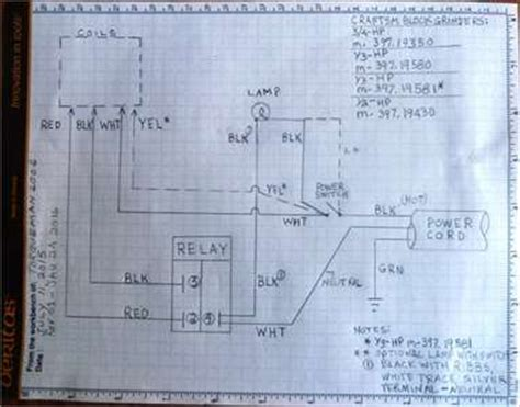 klixon motor protector klixon wiring diagram and circuit