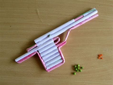 How To Make A Paper Bullet - how to make a paper airsoft gun that shoots plastic
