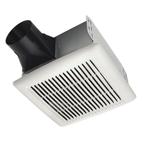 bathroom fans cfm shop broan 2 sone 80 cfm white bathroom fan at lowes com
