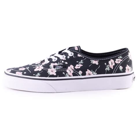 Vans Authentic California Black Pink vans authentic womens trainers in black pink