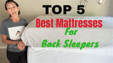 Top 5 Best Mattresses For Back - top 5 best mattresses for back sleepers