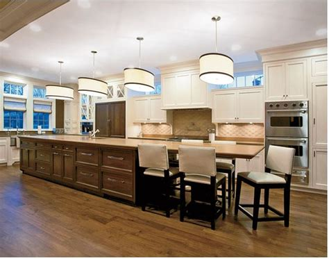extra long kitchen island the long the two and island lighting on pinterest