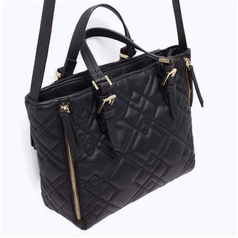 Zara Mini Quilted Messenger Bag by Zara Zara Quilted Mini City Bag From Thuy S Closet On