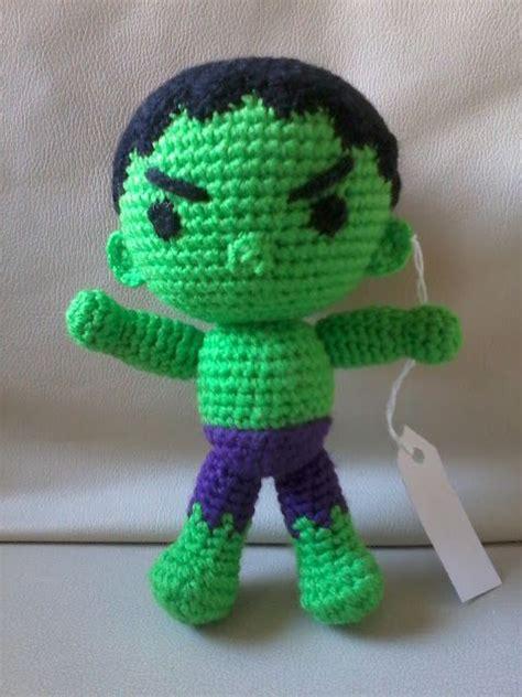 amigurumi hulk pattern creaciones y tejidos de maggie el increible hulk