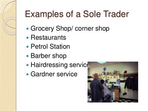 sole trader business plan template sole trader business ppt