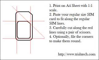 sim template how to cut regular sim card into micro sim size