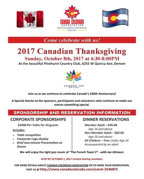 thanksgiving show 2017 canada colorado association events