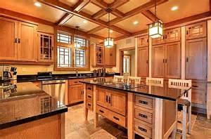 Kitchen Island Unfinished craftsman kitchen minnesota hooked on houses