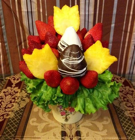 edible arrangements s day fruit bouquet i made for s day made by me