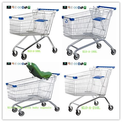 grocery cart baby seat grey powder color shopping trolley shopping cart with baby