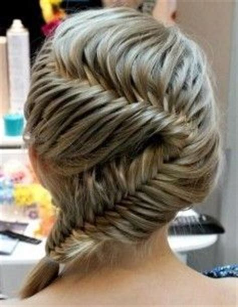 braiding styles for real short hair hair on pinterest finger waves four strand braids and