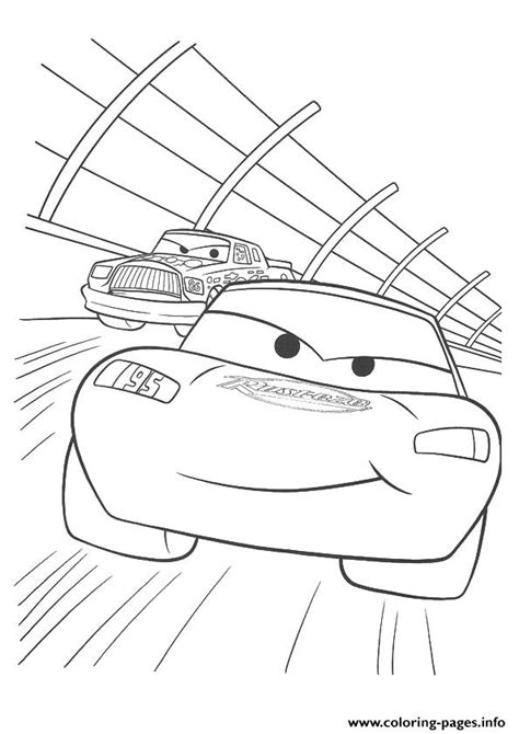 disney coloring pages a4 cars lightning mcqueen racing a4 disney coloring pages
