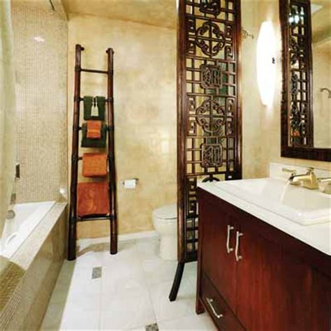 eastern oasis  big ideas  small bathrooms